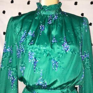 Vintage Malia Floral Dress